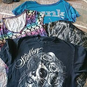 Four tee shirt bundle